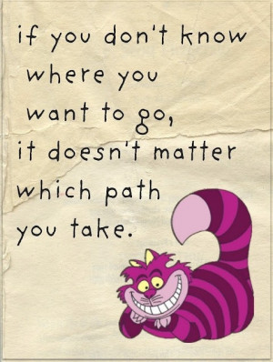 Alice in wonderland quote, Disney
