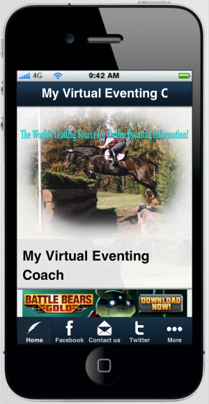 Day Eventing Quotes My virtual eventing coach