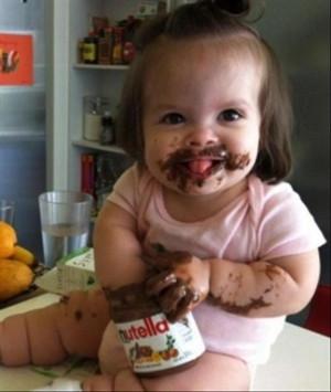 nutella, funny