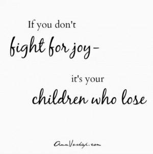 Ann Voskamp: motherhood quotes