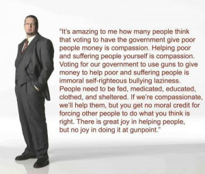 Best Charity Quote ~ It's Amazing to me how many people think that ...
