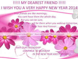 Happy New Year 2014 , Wishes, Greetings, Cards, Friendship Quotes, My ...