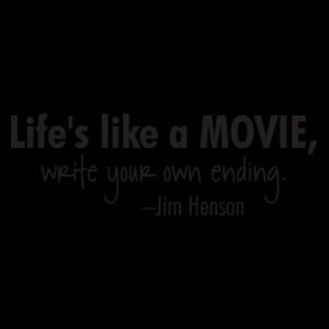 Life is Like a Movie Wall Quotes™ Decal