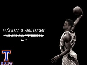 Tebow = Leader NIKE Says so :) Compliments of http://www.facebook.com ...