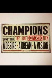 ... -ARE-MADE-OF-MUHAMMAD-ALI-QUOTE-METAL-SIGN-MAN-CAVE-GARAGE-GAME-ROOM