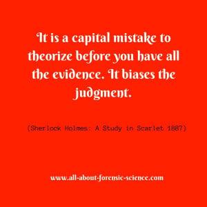 Wonderful quote from the pen of Sir Arthur Ignatius Conan Doyle. # ...