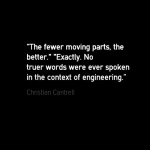 Engineering quotes - Christian Cantrell