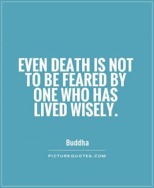 Buddha Quotes Death Quotes