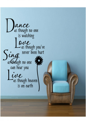 Dance Quotes For Girls Dance as though no one is