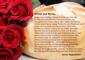 Free ecards » bread and roses poem