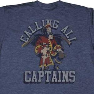Calling All Captains Captain Morgan T-Shirt