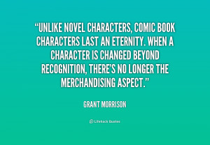 Comic Book Character Quotes