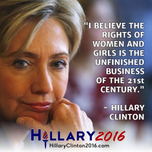 Hillary Clinton Quote on Women's Rights