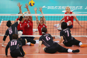 ... Volleyball 7-8 Clasification match against Japan on day 8 of the