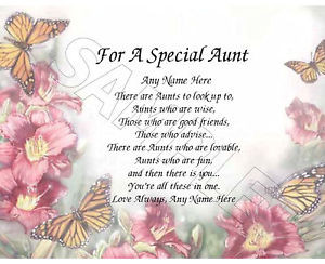 FOR-A-SPECIAL-AUNT-PERSONALIZED-PRINT-POEM-MEMORY-BIRTHDAY-MOTHERS-DAY ...