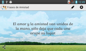 Frases de Amistad for Android