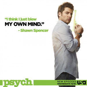 Best Quotes and Moments from Psych S07E08 Right Turn Or Left For Dead