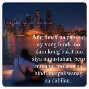 Quotes About Love Long Distance Relationship Tagalog #1
