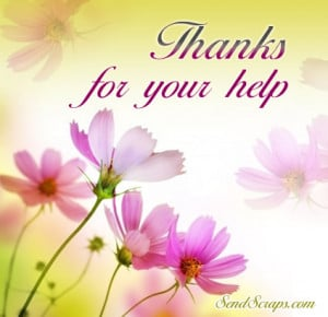 Thank You For Your Support Quotes Thanks for your help images