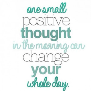 Good morning!! Start your Sunday with positive thoughts, just try it ...