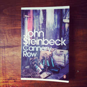 Cannery Row by John SteinbeckI'm rereading this at the moment ...