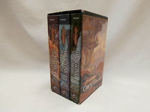 Chronicles Trilogy in Slip Case by Margaret Weis Tracy Hickman