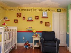 curious george room