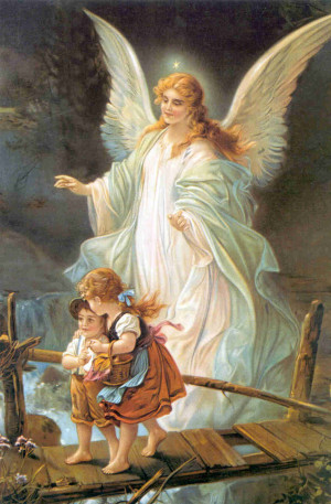 We have to thank our guardian angels during our prayers.