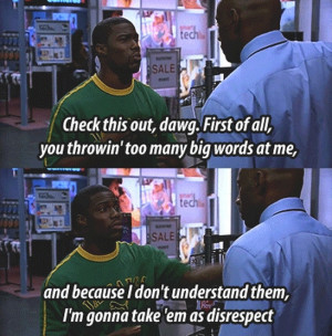 ... Malco's Big Words As Insults In 40 Year Old Virgin Picture Quotes