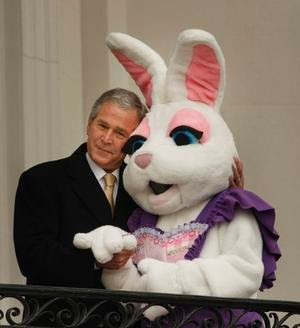 ... is a reprise of George W. Bush's profound comment about being fooled