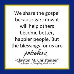 ... Clayton M. Christensen, from his book,