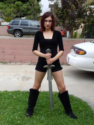 Conan The Barbarian-- Me Swinging The Atlantean Sword