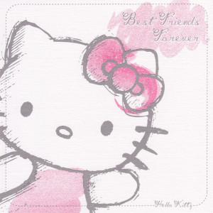 ... Hello Kitty Birthday Cards For Friends Hello kitty classic - friends