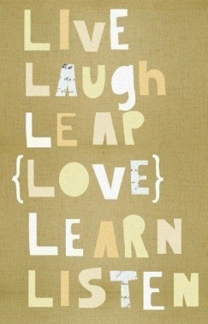 how to listen learn laugh and lead