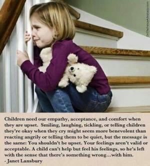 Validate feelings