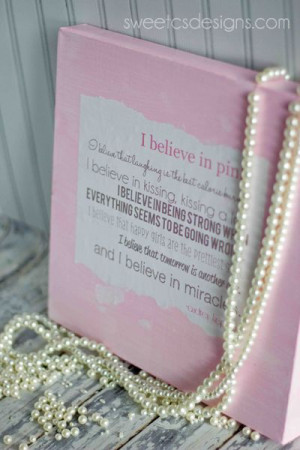 audrey hepburn quote canvas- this is a fun project with an adorable ...