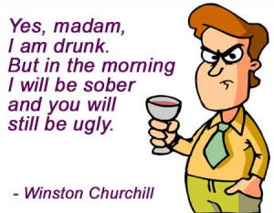 Funny Quote by Winston Churchill