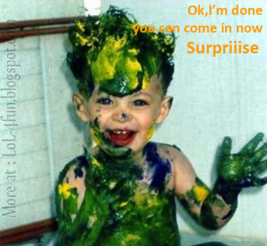 Funny surprise