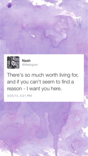nash grier tweet lock screen