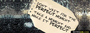 motivational quote for Prefect Facebook Timeline Cover