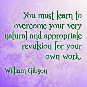 William Gibson quote #writing