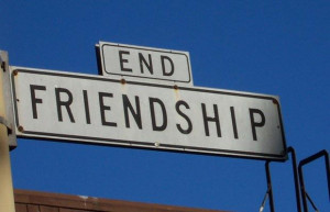 Ending friendships due to a breakup…