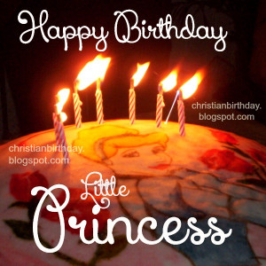 Happy Birthday Little Princess. Wishing Blessings to you. Free ...