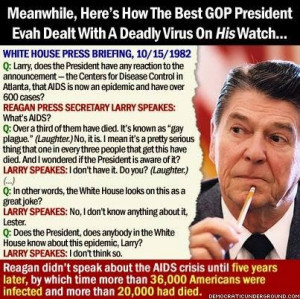 ... Obama post on the economy. And, yeah, Obama's eating Reagan's lunch in