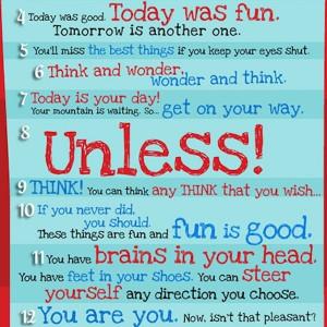 30 Dr Seuss Quotes 30 Classic Dr . Seuss Quotes T