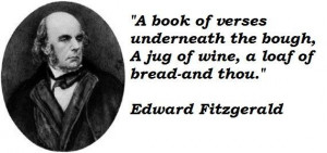Edward fitzgerald famous quotes 1