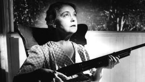 Lillian Gish in Night of the Hunter, 1955.