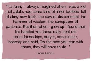 Anne Lamott Qutoe