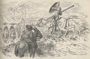 OF THE GOOD FORTUNE WHICH THE VALIANT DON QUIXOTE HAD IN THE TERRIBLE ...