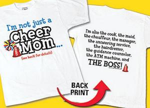 cheer ideas for cheerleading   Cheerleader shirts, cheer tees ...